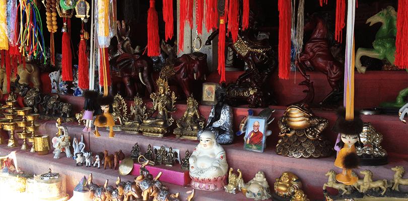 Сувениры возле Иволгинского дацана